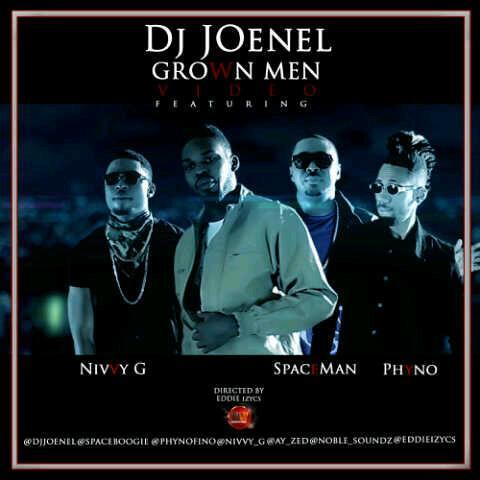 DJ JoeNel Grown Men Art