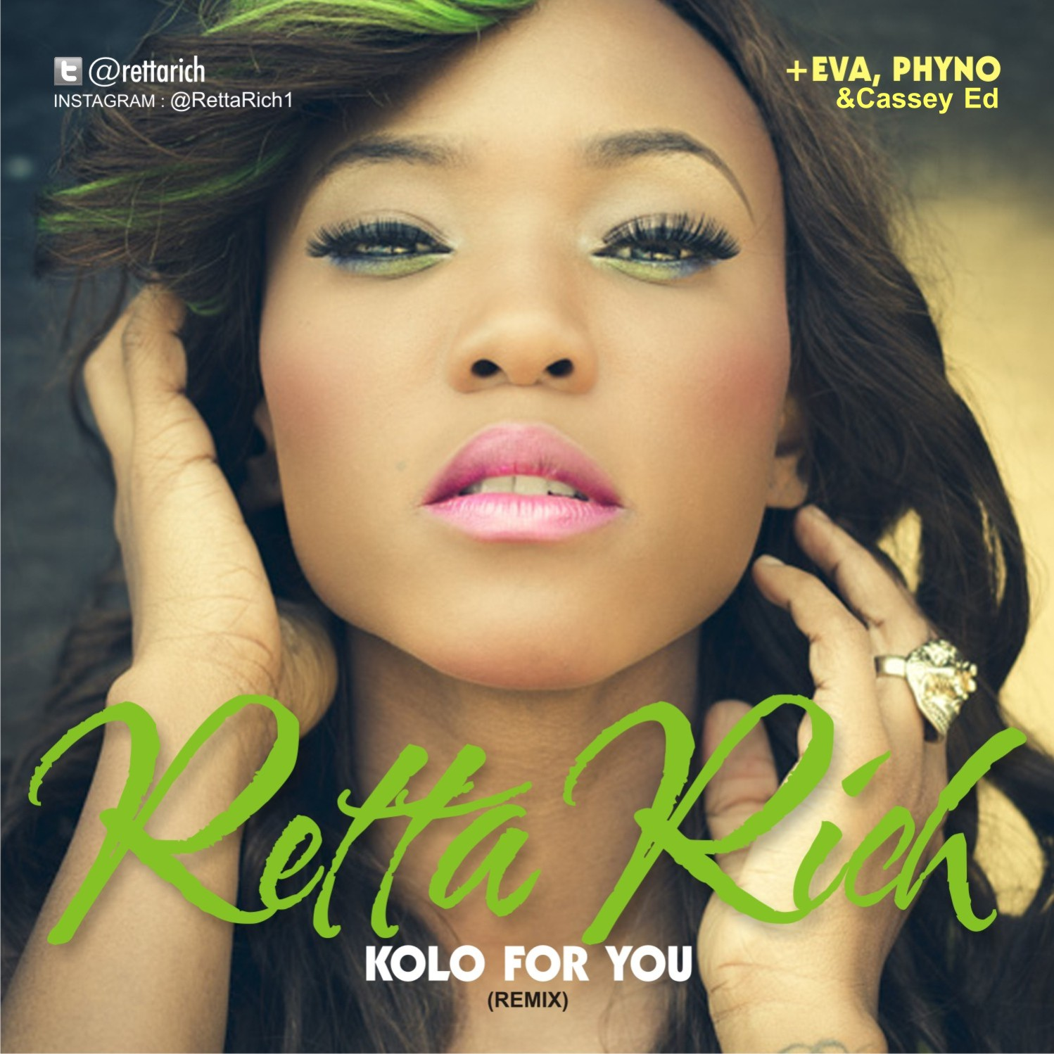 Retta Rich - Kolo For You Remix - Artwork