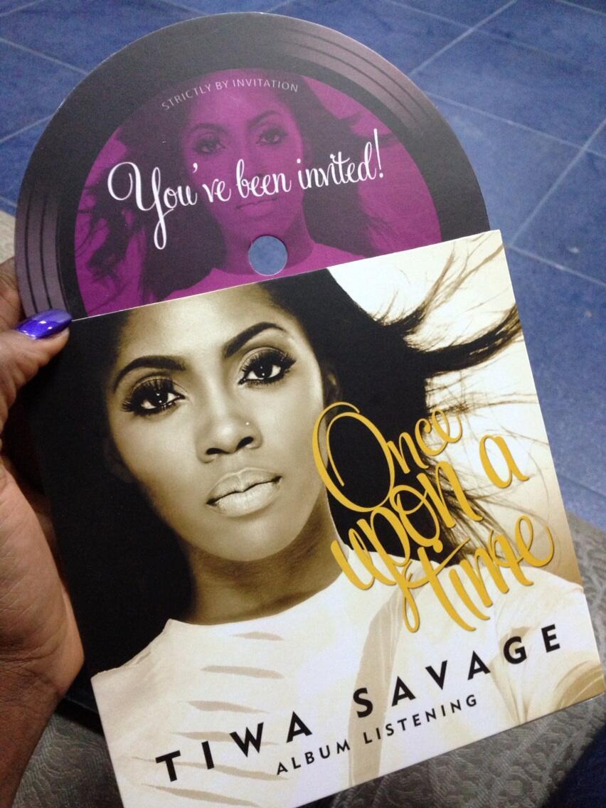 Tiwa Savage Album Listening