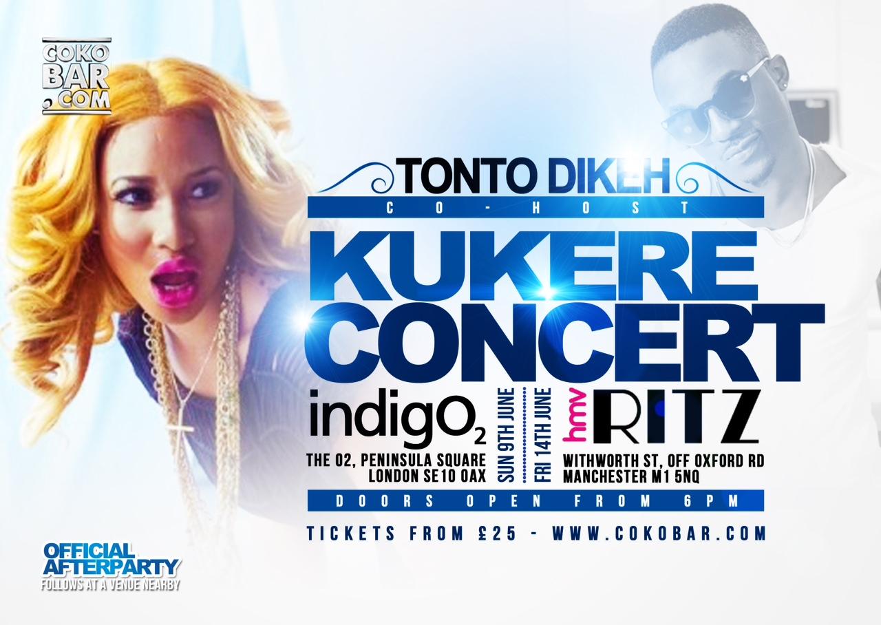 Tonto Iyanya Concert