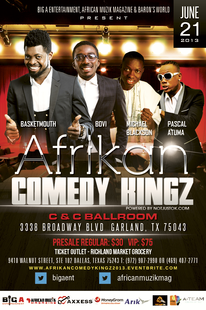 African Comedy Kingz Art