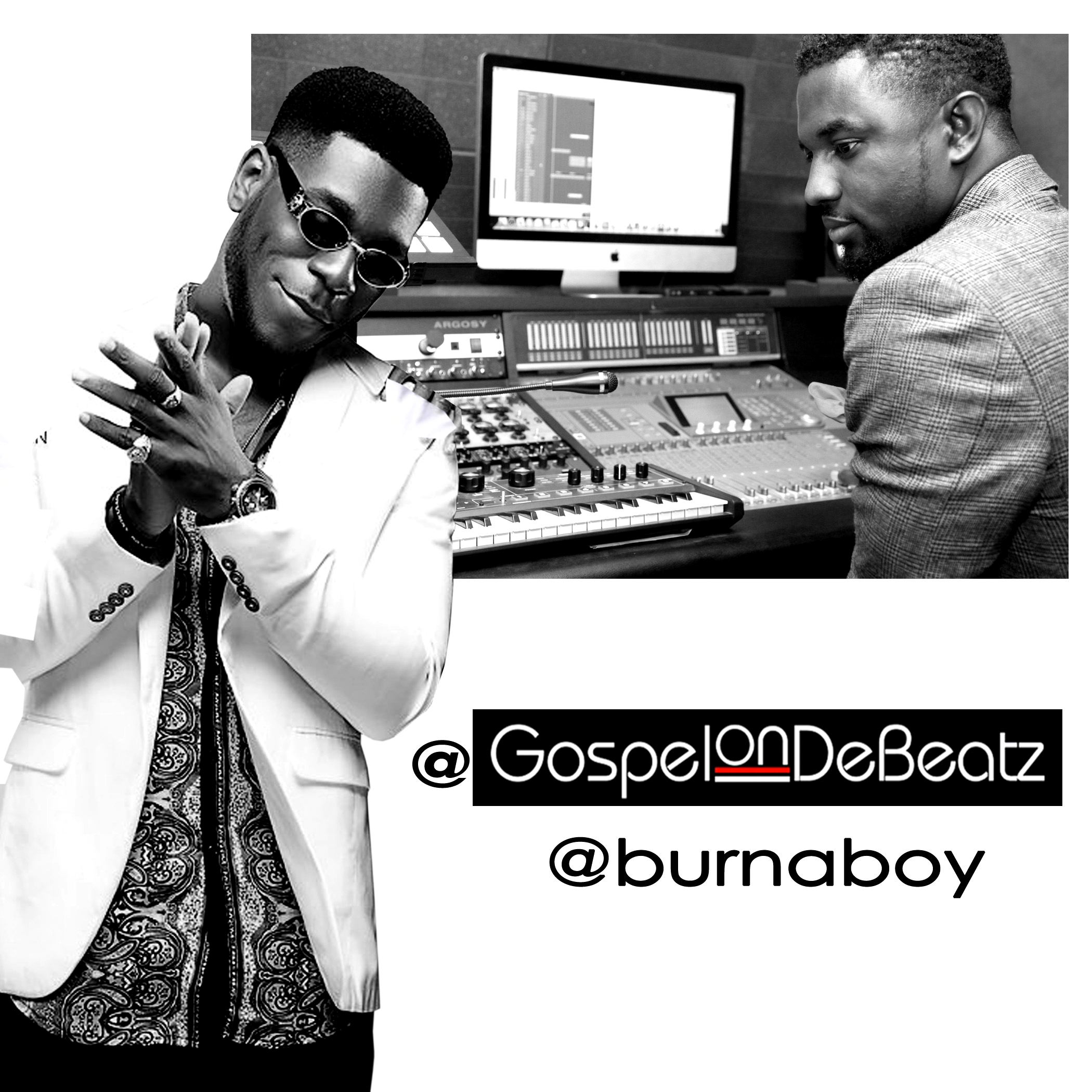 Burna Boy Gospel Art