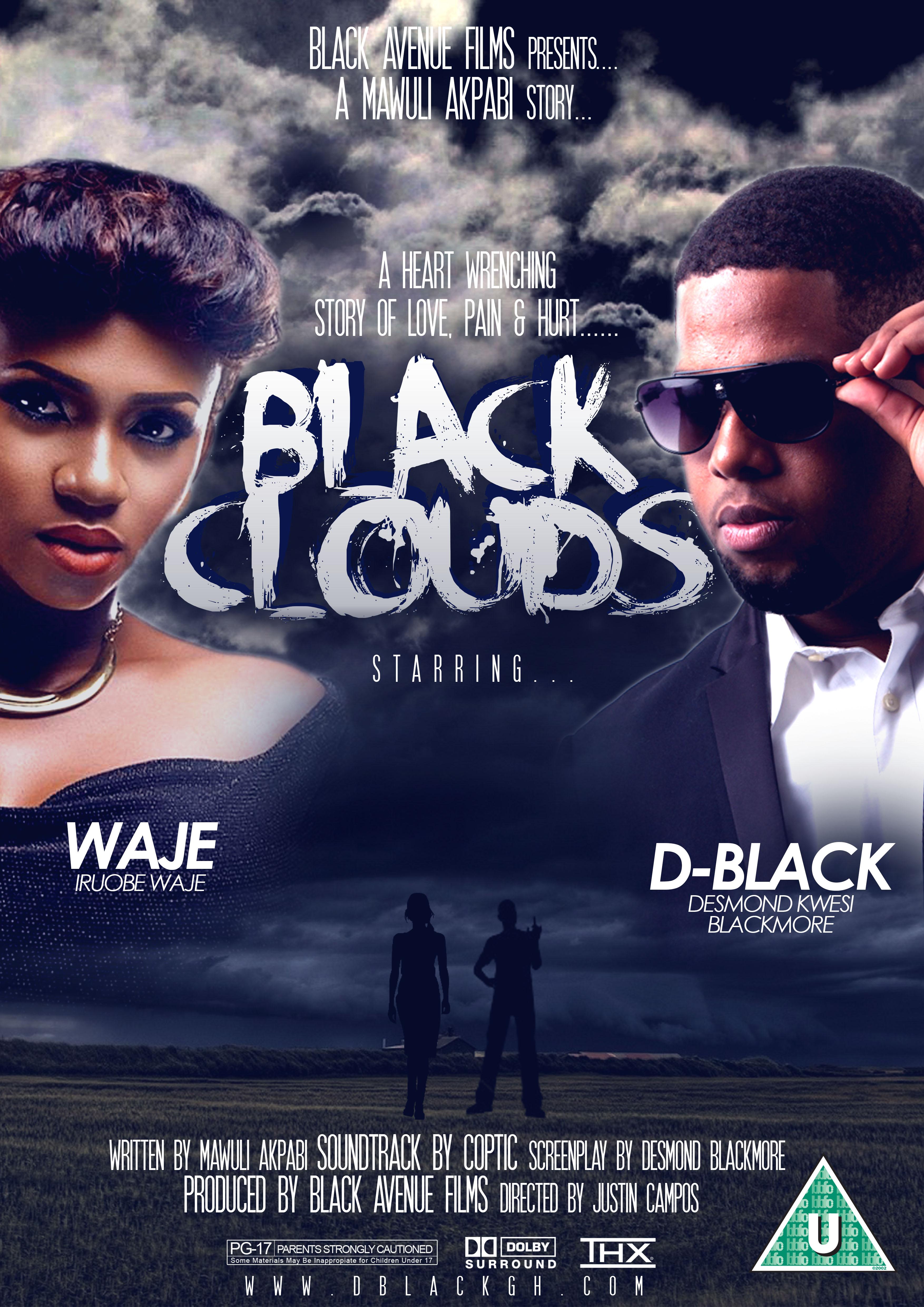 D-Black Black Clouds ft. Waje Poster