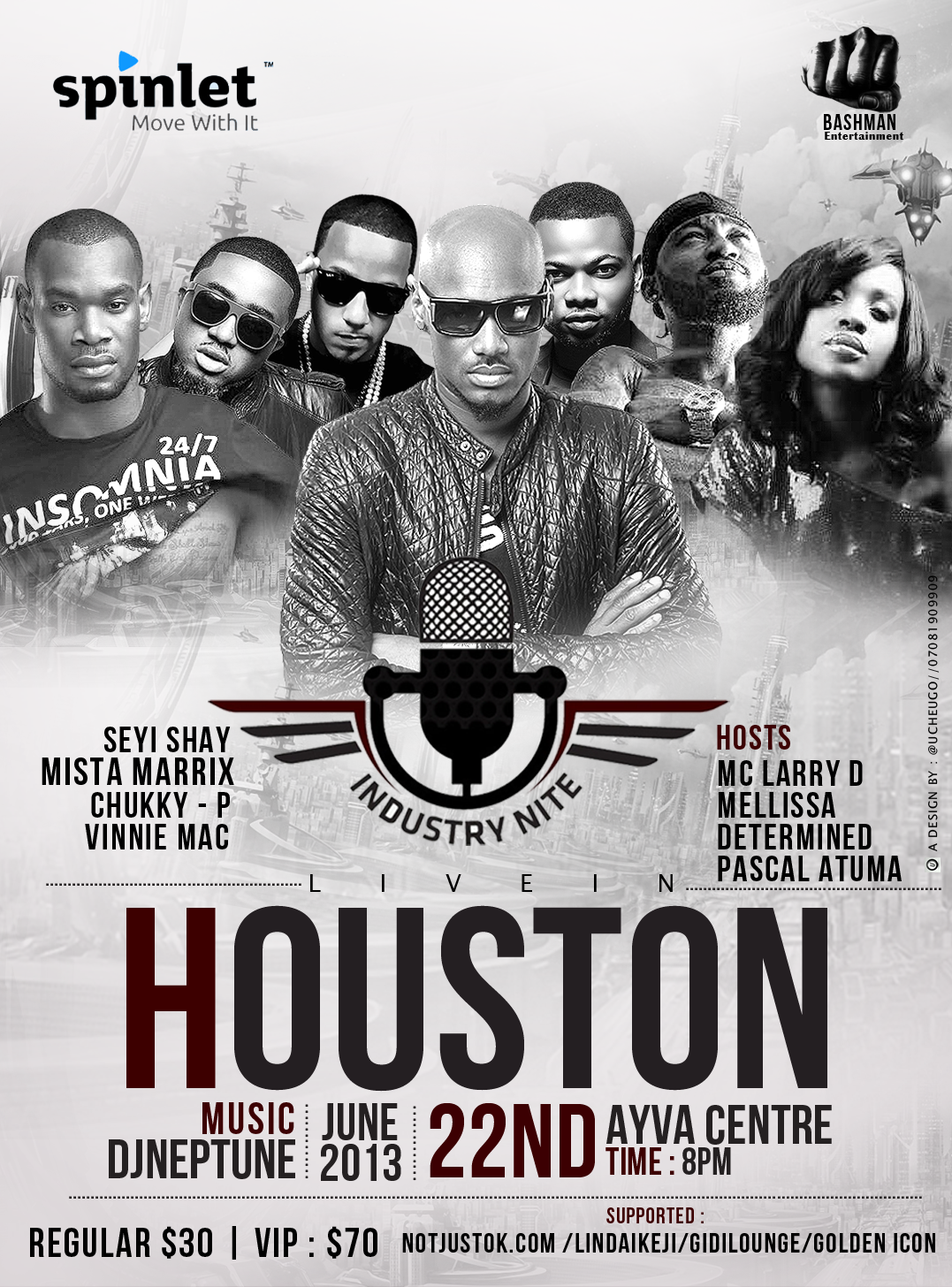 Industry Nite Houston Art