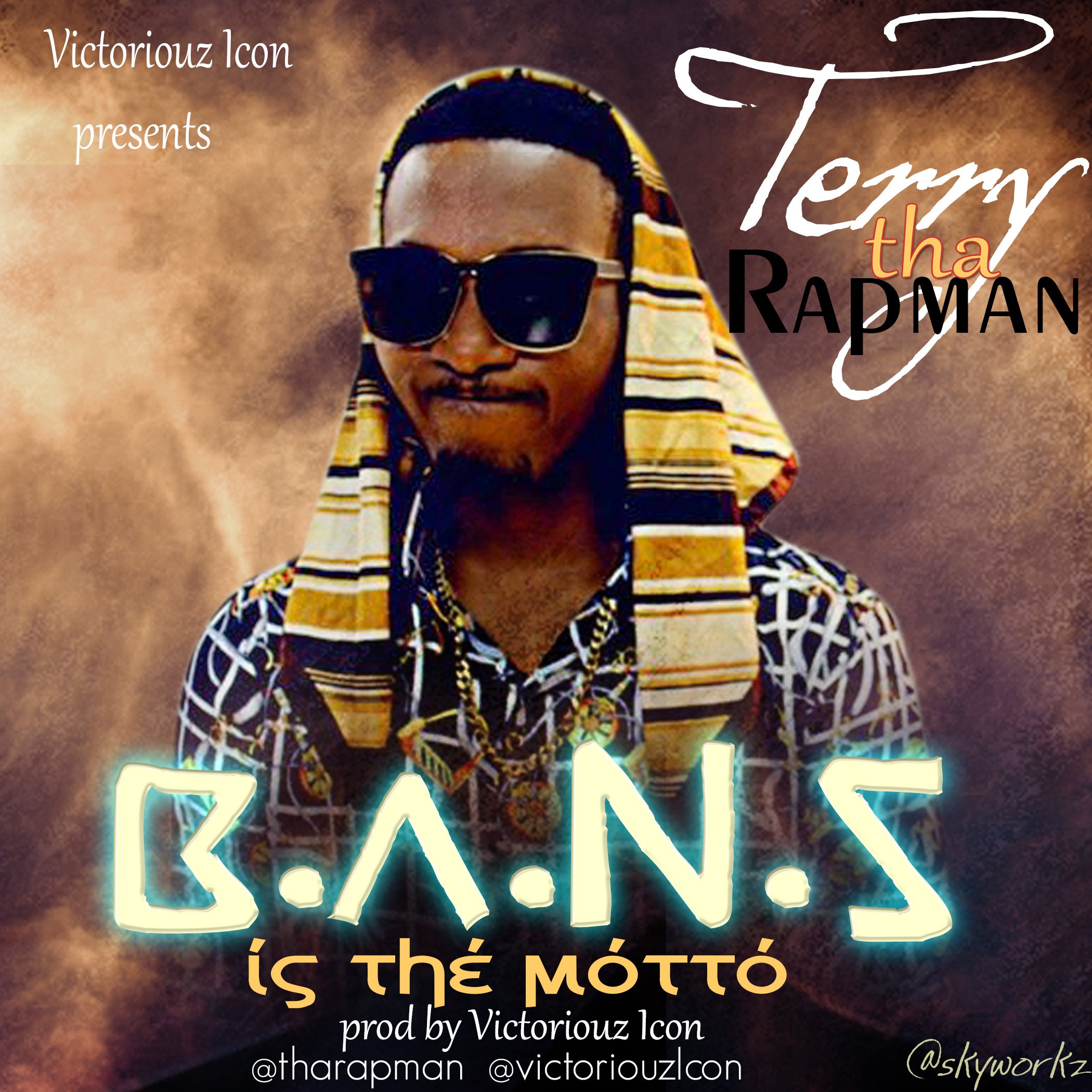 Terry Tha Rapman Bans Is The Motto Artwork