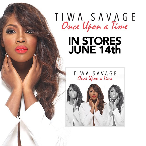 Tiwa Savage Once Upon A Time Album Promo Art