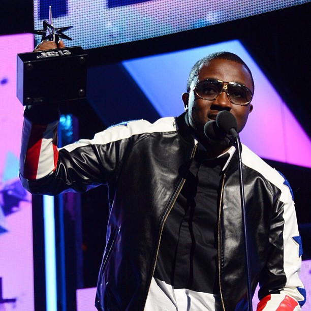 Ice Prince BET Award Stage 1