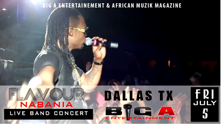 flavour Nabania Dallas Concert