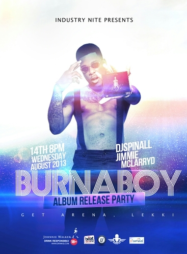 Burna Boy Industry Nite Album Release Party