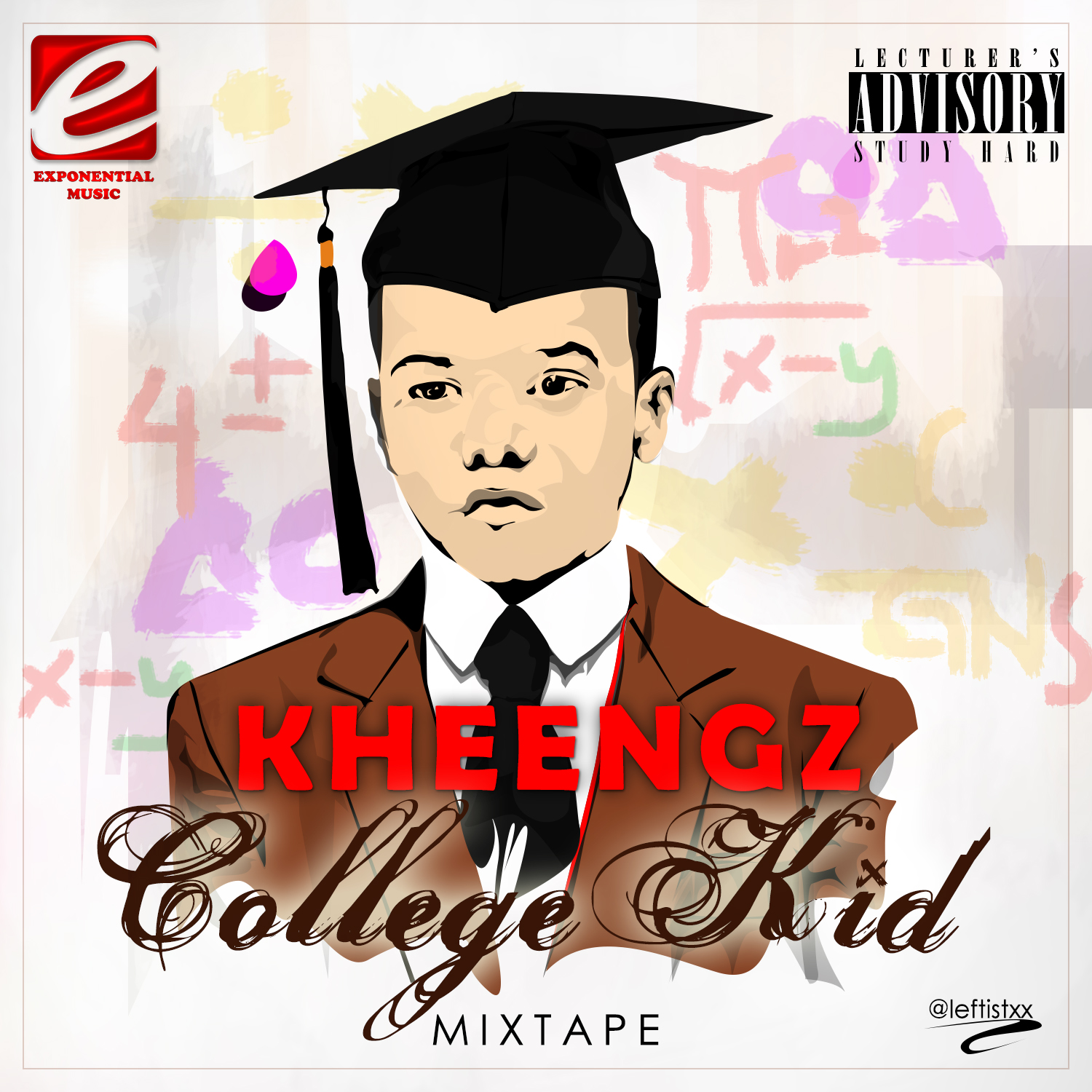 Kheengz College Kid Mixtape Art
