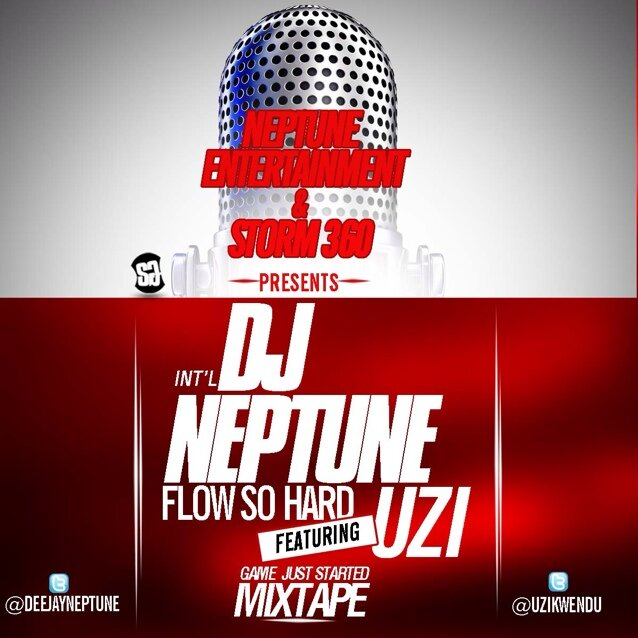 DJ Neptune Flow So Hard Art