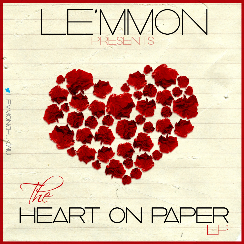 Le'mmon Heart on Paper