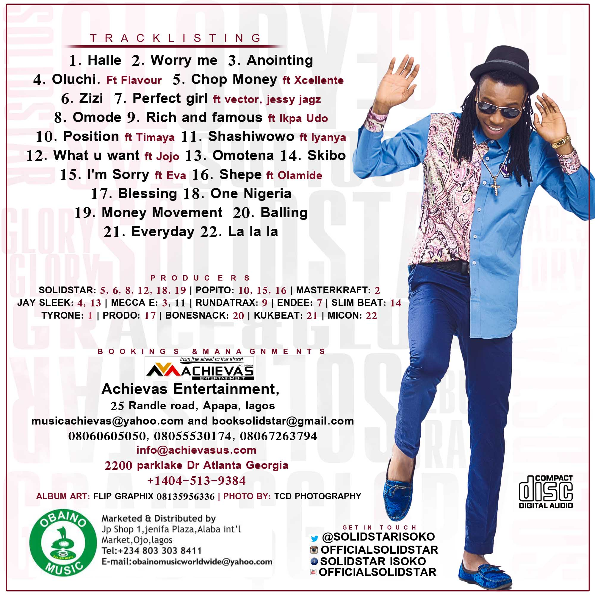 solidstar grace & glory back cover