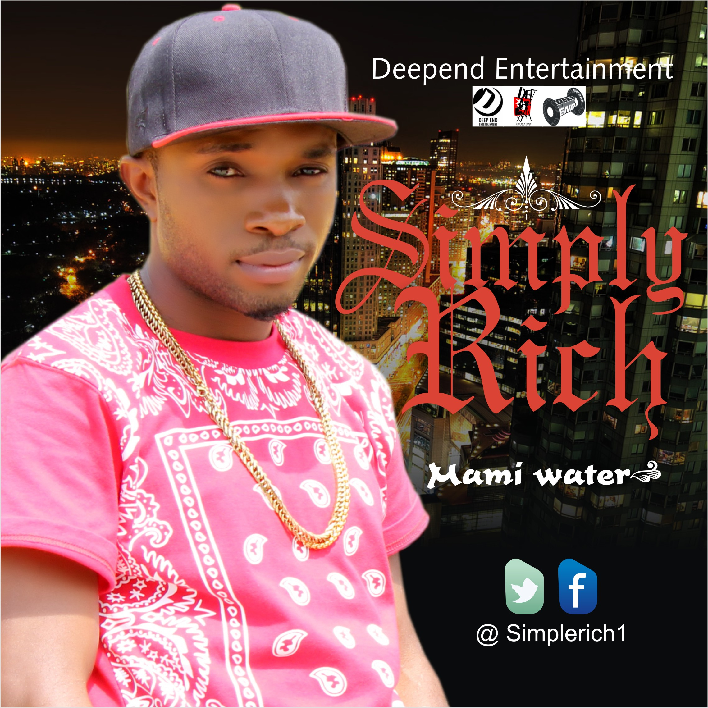 Simply Rich Mami Water