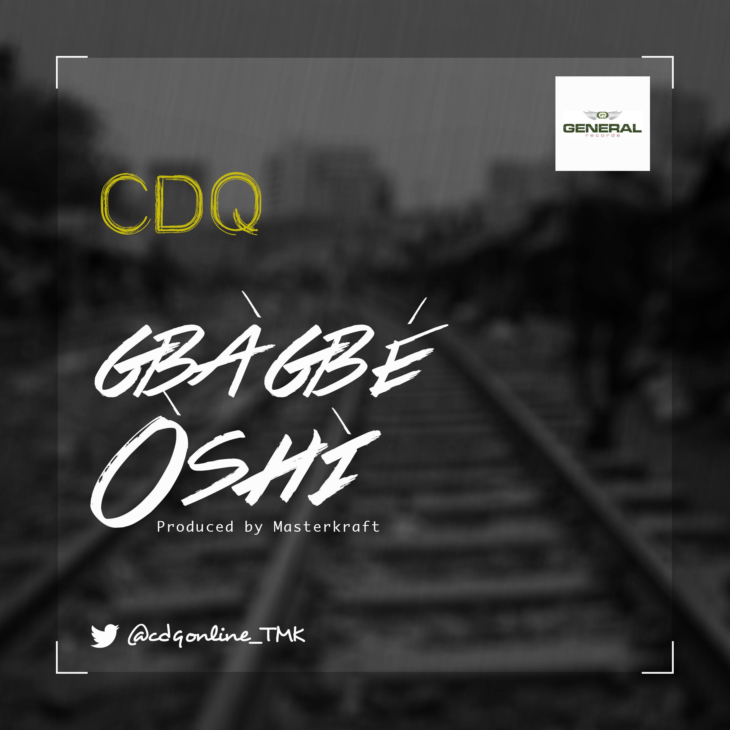 CDQ Gba Gba Oshi Art
