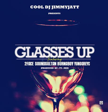 DJ Jimmy Jatt Glasses Up Art