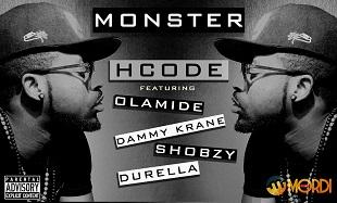 HCode MONSTER-Remix-Artwork feat