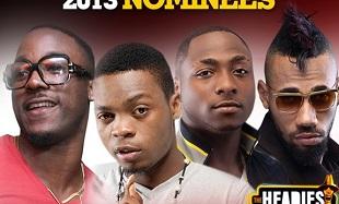 Headies 2013 Nominees feat