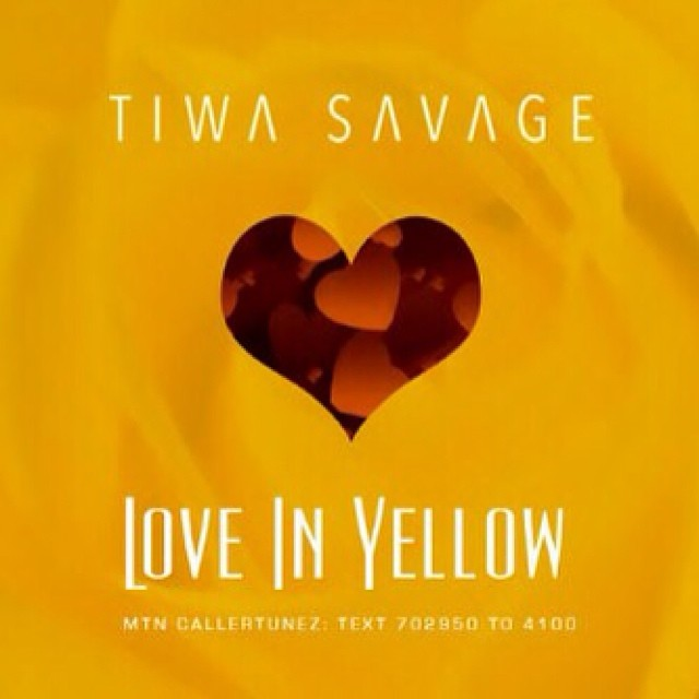Tiwa Savage Love In Yellow Art