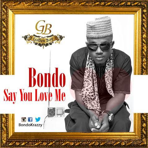 Bondo Say You Love Me Art