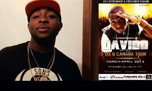Davido US Tour Promo vid feat
