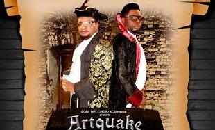 Artquake Certificate Art feat