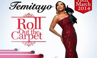 Temitayo Roll Out The Carpet Art feat