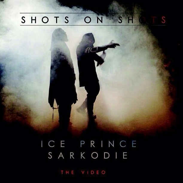 Ice Prince Sarkodie Shots on Shots Video Art