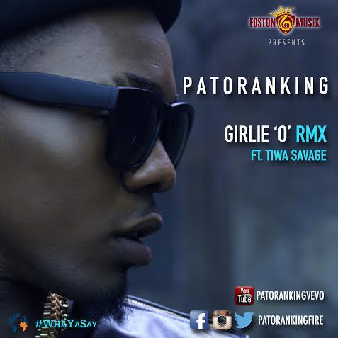 Patoranking Girlie O Remix Art