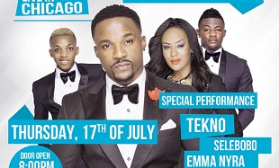 Iyanya Live In Chicago 2014 feat
