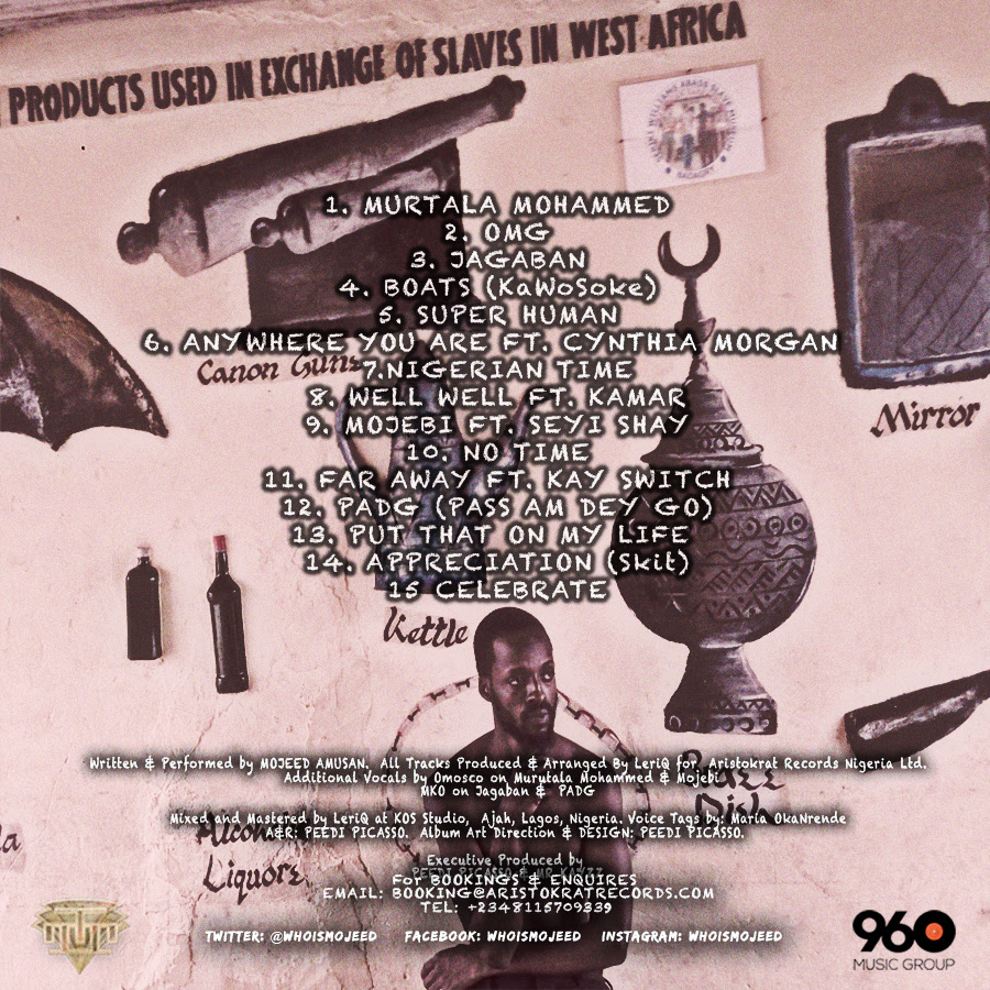 Mojeed Westernized West African Back Cover