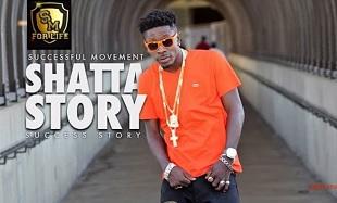 Shatta Wale Shatta Story Art feat