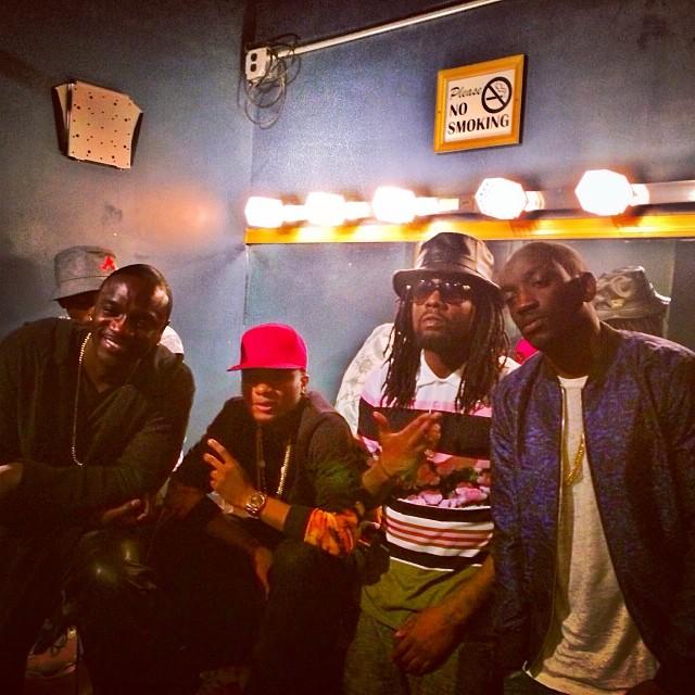 Wizkid Akon Wale Bu