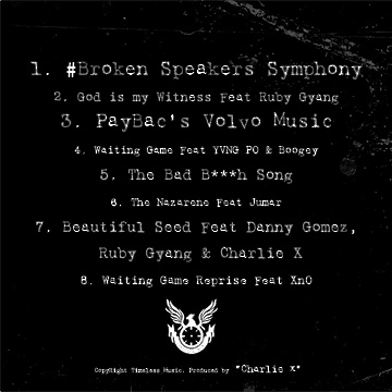 Charlie X Paybac EP Back