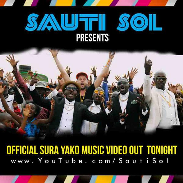 Sauti Sol Sura Yako Video Art