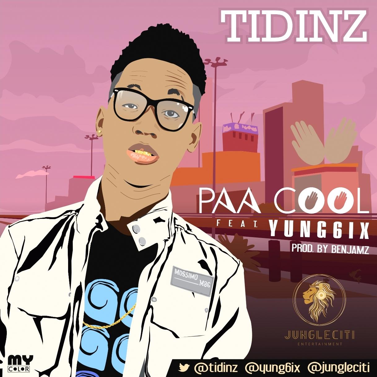 TIDINZ-Paa Cool [Artwork] - Resize