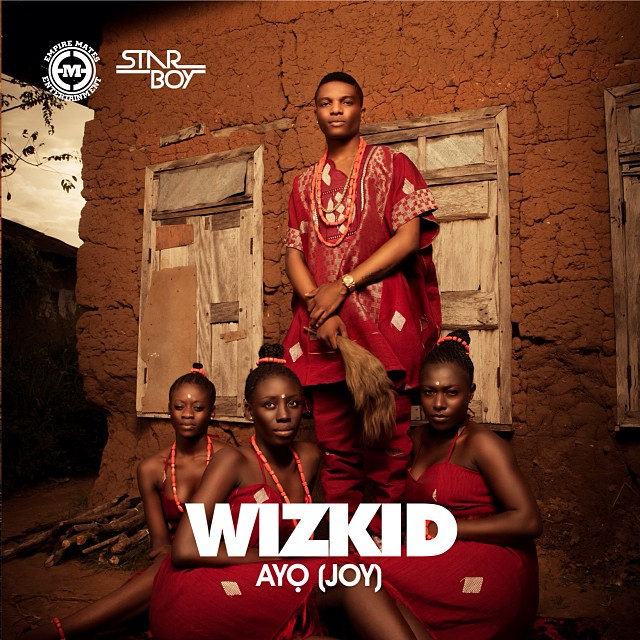 Wizkid Ayo Cover Art