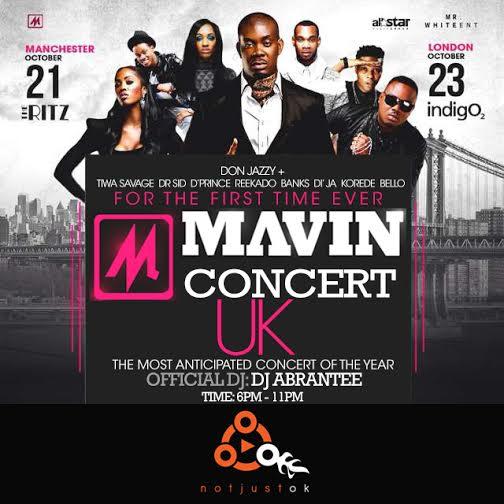 Mavin Concert UK NJO