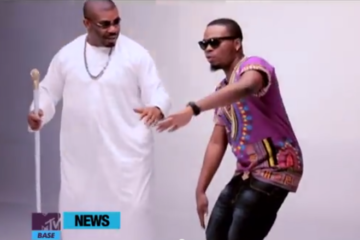 Don Jazzy Olamide Skelemba Clip