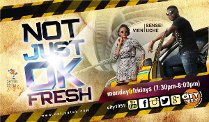 NOTJUSTOK FRESH ON CITY105.1