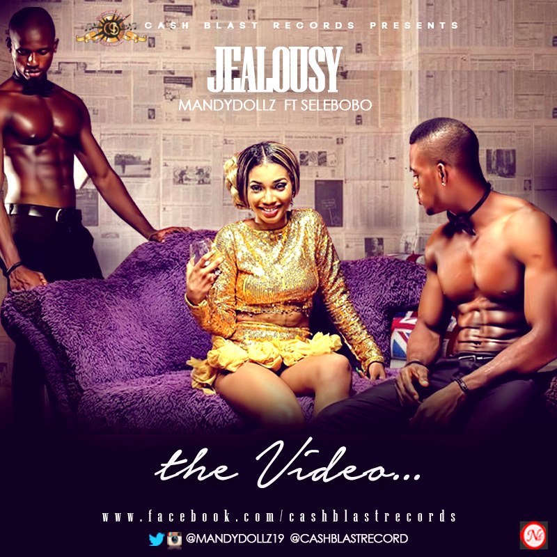 JEALOUSY THE VIDEO - Cover Art