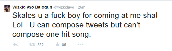 Wizkid two - capture image