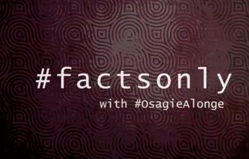VIDEO: #FactsOnly With Osagie Alonge - Nigerian Artistes Have A Lot To Learn From Falz