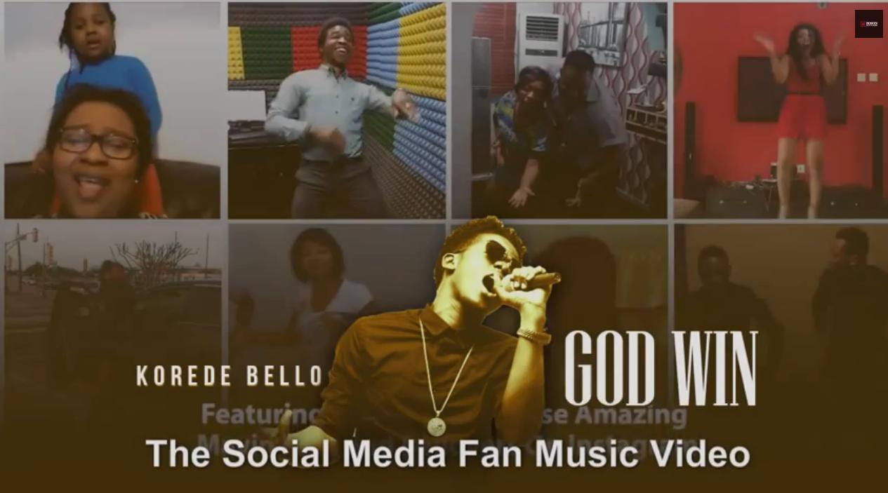 Korede Bello GodWin Fan Video