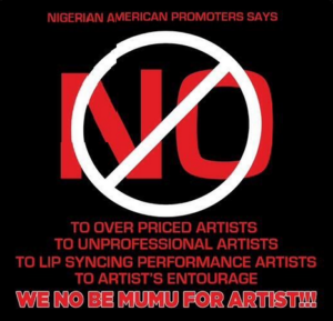 Nigerian American Promoters