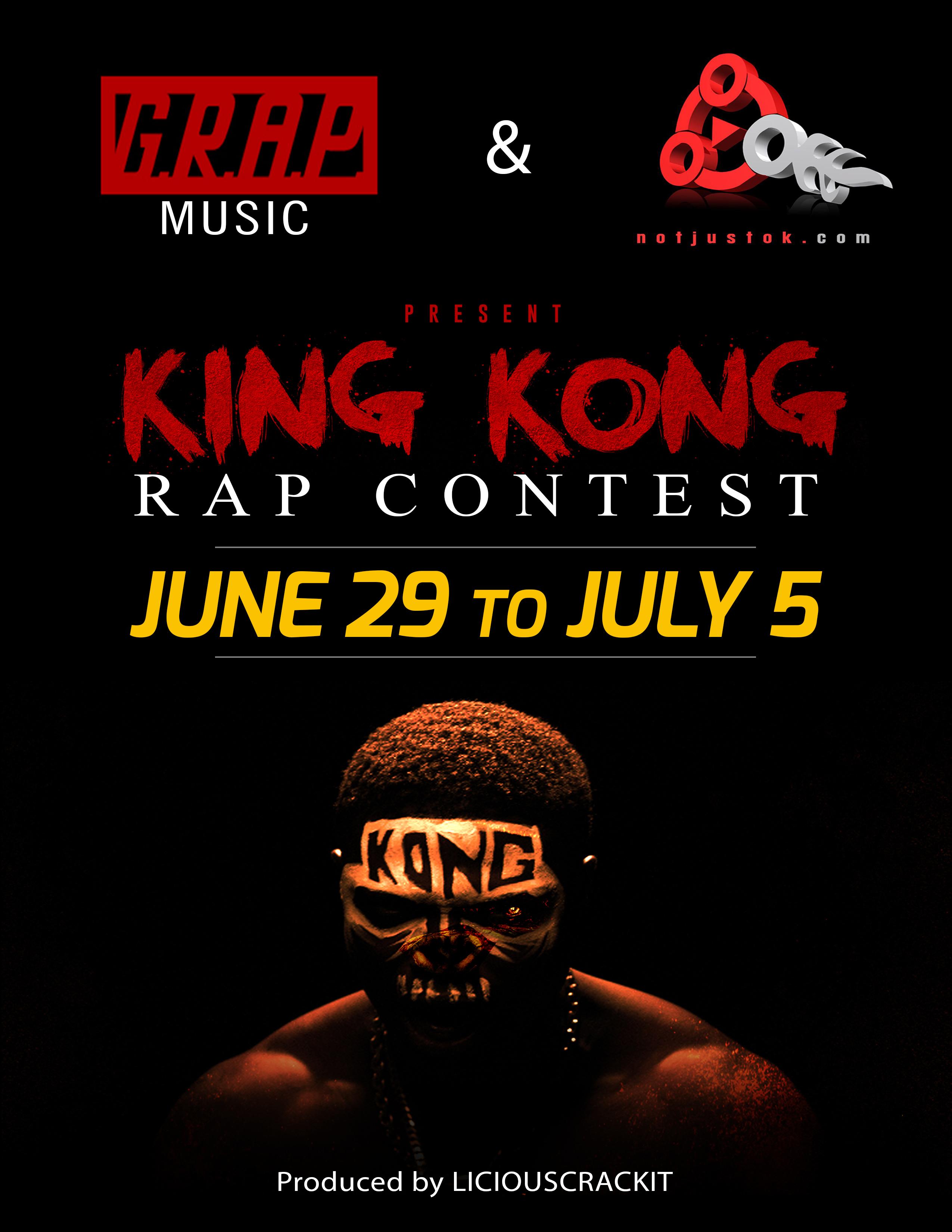 Notjustok com and G R A P Music Present: King Kong Rap
