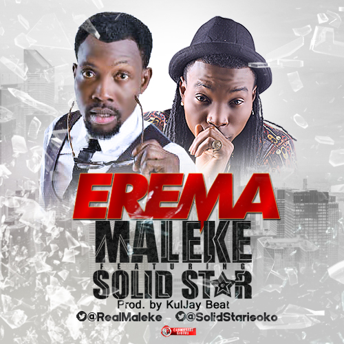 Maleke - Ereme Ft SolidStar art cover