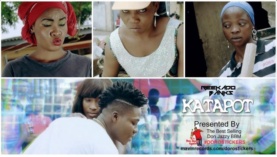 Reekado Banks Katapot Video