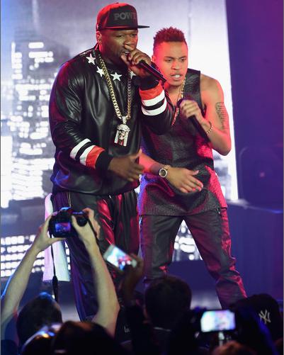 Rotimi 50 Cent