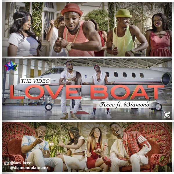 Kcee Diamond Love Boat Video Art